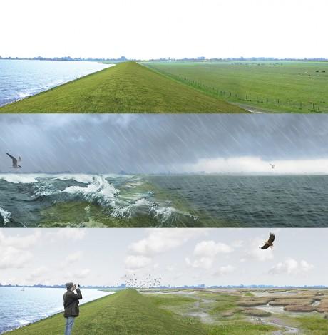 Award voor ontwerpend onderzoek naar klimaatbestendige IJsselmeerregio