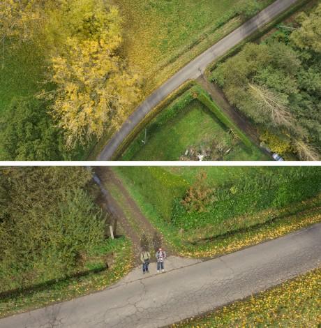 luchtfoto`s voor Vlaamse Landmaatschappij