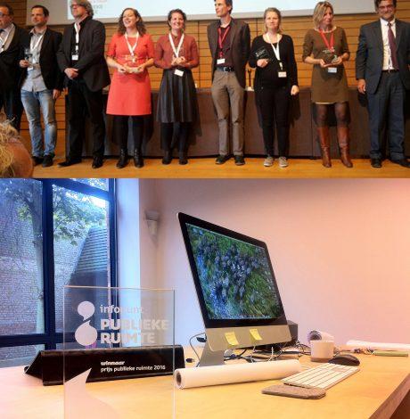 """""""Ideale straatprofiel"""" wint prijs publieke ruimte 2016!!"""