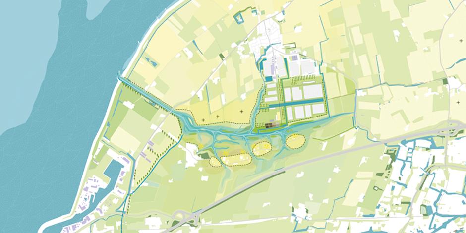 binnendijks toepassen havenslib Harlingen